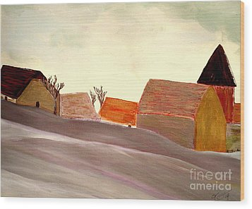 A Winter Morning Wood Print by Bill OConnor