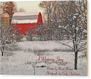 A Wintering Story Wood Print by Mark Minier