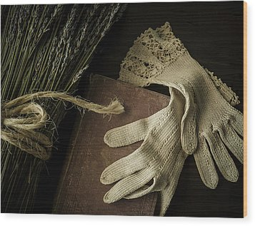 A Woman's Touch Wood Print by Amy Weiss