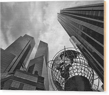 A World Of Skyscrapers Wood Print