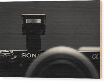 a6000 Sony Wood Print by Wade Brooks