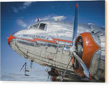 Aa Dc3 Flagship Detroit Wood Print