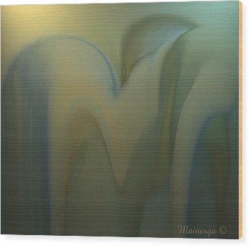 Ab-www-3 Wood Print by Ines Garay-Colomba