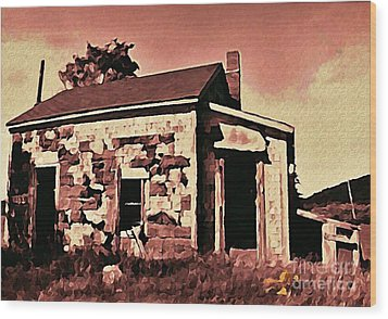 Abandoned Cape Breton House Wood Print by John Malone