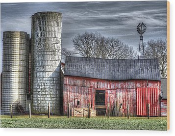 Abandoned Farm New Jersey Wood Print