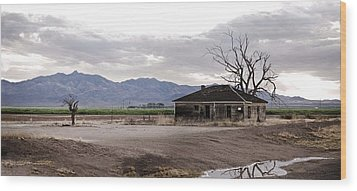 Abandoned House Wood Print by Swift Family