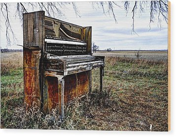 Abandoned Wood Print by Jean Hutchison
