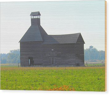 Abandoned Wood Print by Kay Gilley