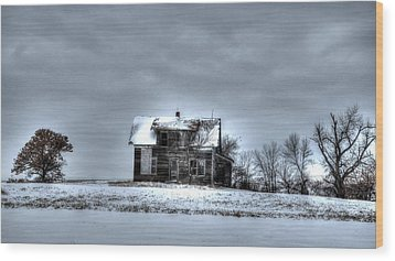 Wood Print featuring the photograph Abandoned  by Kevin Bone