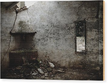 Abandoned Little House 3 Wood Print by RicardMN Photography