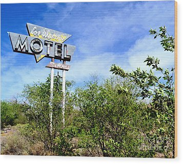 Wood Print featuring the photograph Abandoned Los Alamos by Utopia Concepts