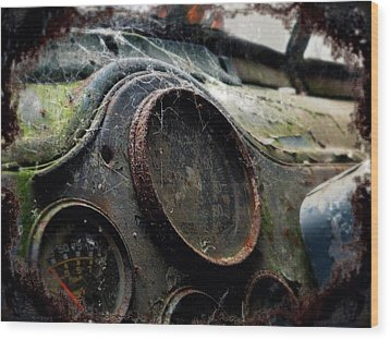 Wood Print featuring the photograph Abandoned by Micki Findlay