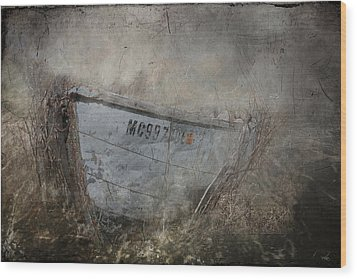 Abandoned On Sugar Island Michigan Wood Print by Evie Carrier