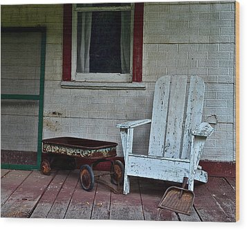 Abandoned Wood Print by Frozen in Time Fine Art Photography