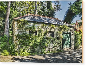 Abandoned Wood Print by Steve Purnell