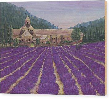 Abbaye Notre-dame De Senanque Wood Print