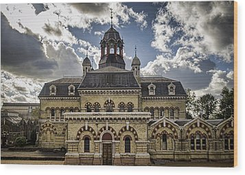 Abbey Mills Pumping Station Wood Print by Heather Applegate