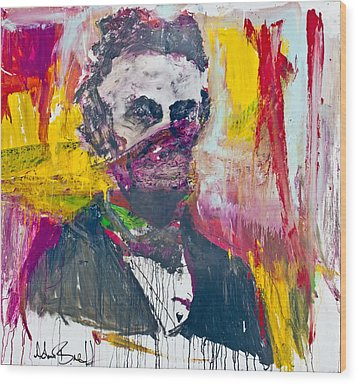 Abe Lincoln - By Adam Brett Wood Print