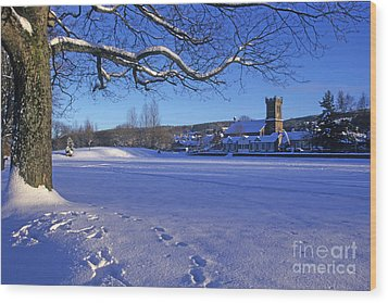 Aberlour Winter Wood Print by Phil Banks