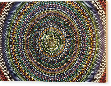 Aboriginal Inspirations 29 Wood Print by Mariusz Czajkowski