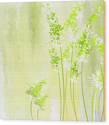 About Spring Wood Print