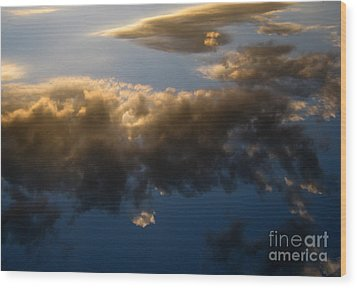 Wood Print featuring the photograph Above The Clouds by Janice Westerberg