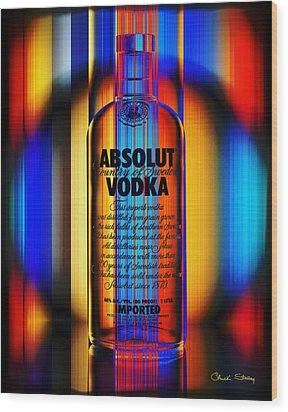 Absolut Abstract Wood Print