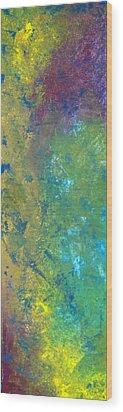 Abstact 6 Wood Print by Corina Bishop