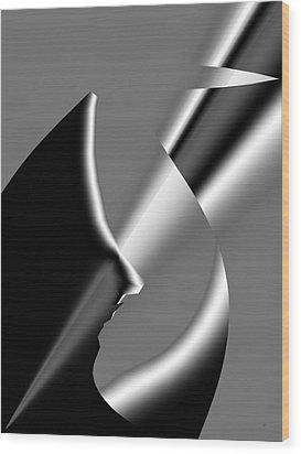 Abstract 1010  Wood Print by Gerlinde Keating - Galleria GK Keating Associates Inc
