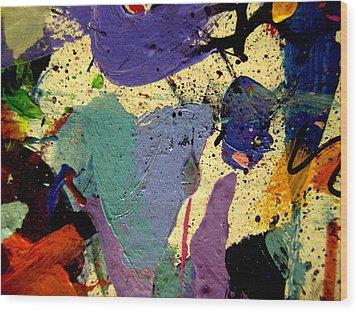 Abstract 11 Wood Print by John  Nolan