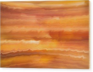 Abstract 14 Wood Print