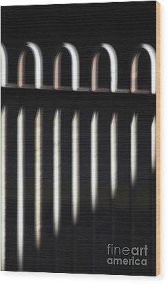 Abstract 16 Wood Print by Tony Cordoza