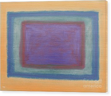 Abstract 186 Wood Print by Patrick J Murphy