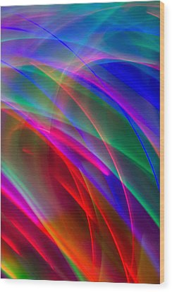 Abstract 23 Wood Print