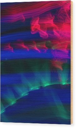 Abstract 31 Wood Print