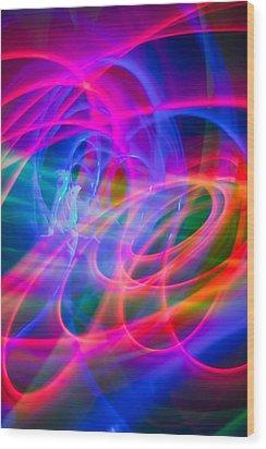 Abstract 33 Wood Print