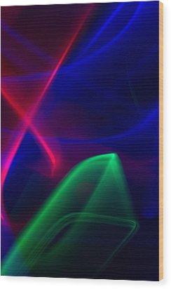 Abstract 36 Wood Print