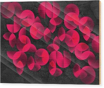 Abstract 4  Wood Print by Mark Ashkenazi