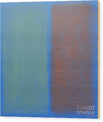 Abstract 45 Wood Print by Patrick J Murphy
