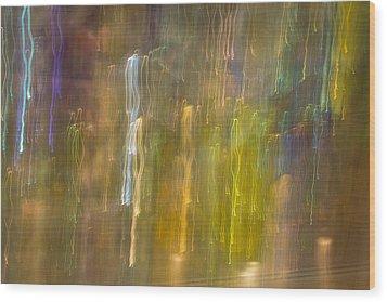 Abstract 8 Wood Print
