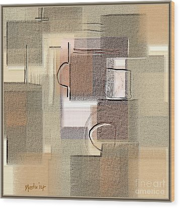 Abstract 949 Wood Print by Nedunseralathan R