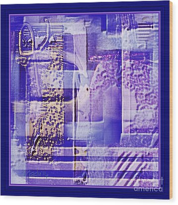 Abstract 950 Wood Print by Nedunseralathan R