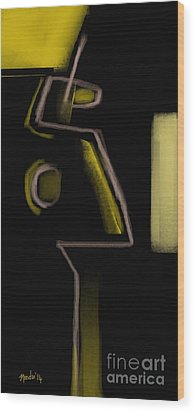 Abstract 964 Wood Print by Nedunseralathan R