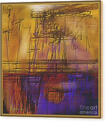 Abstract 970 Wood Print by Nedunseralathan R