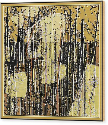 Abstract 971 Wood Print by Nedunseralathan R