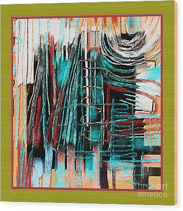 Abstract 974 Wood Print by Nedunseralathan R