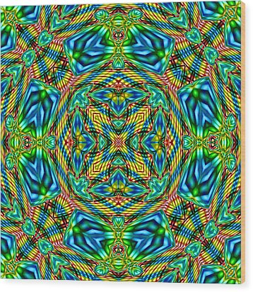 Abstract B33 Wood Print