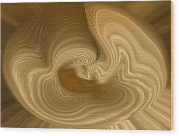 Wood Print featuring the photograph Abstract Design by Charles Beeler