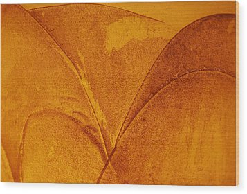 Abstract Design Wood Print