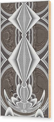 Abstract Door  Ad01 Wood Print